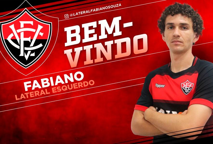 c6ad482b43357 Vitória oficializa contratação de Fabiano