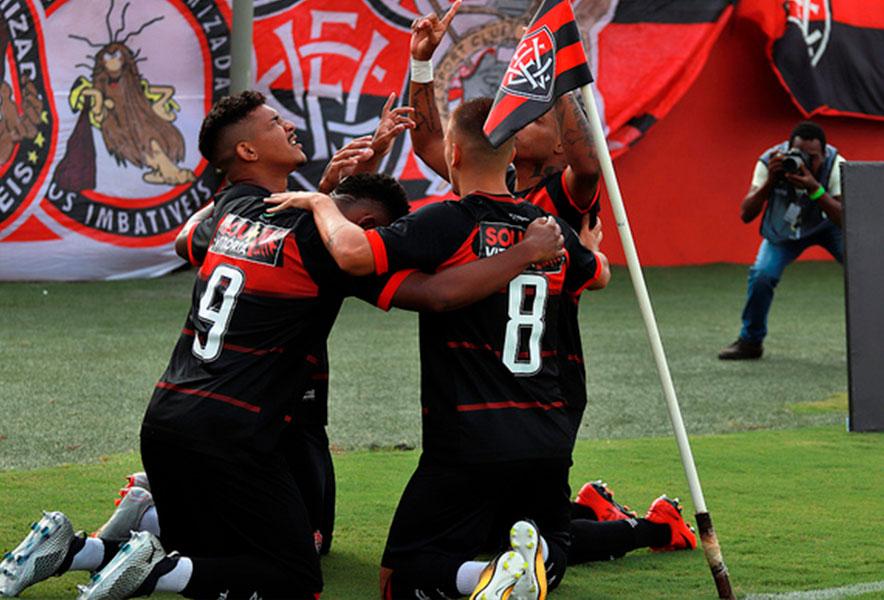 Vitória empata com o Moto Club em 1 a 1 pela Copa do Nordeste - Fala  Cajazeiras b61fc652635c4